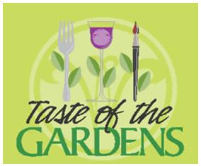 Taste of The gardens logo